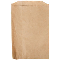Duro 6 inch x 9 inch Brown Merchandise Bag - 1000/Bundle