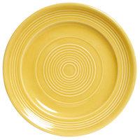 Tuxton CSA-062 Concentrix 6 1/4 inch Saffron China Plate - 24/Case