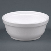 Dart Solo 8B20 8 oz. Insulated White Foam Bowl - 50/Pack