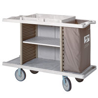 Metro LXHK3-ESS Lodgix Essentials Housekeeping Cart