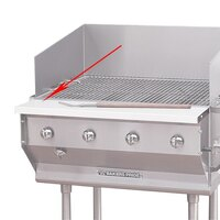 Bakers Pride 21844520 Ultimate Outdoor Charbroiler Richlite Work Deck
