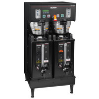 Bunn 33500.0004 Black BrewWISE Dual Soft Heat DBC Brewer - 120/240V, 6800W