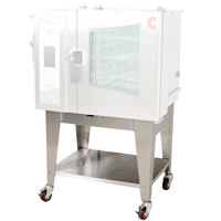 Cleveland CST-20-OBCA Combi Oven Equipment Stand with Open Base and Casters