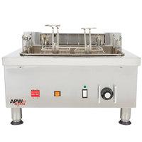 APW Wyott EF-30i 30 lb. Commercial Countertop Deep Fryer - 240V