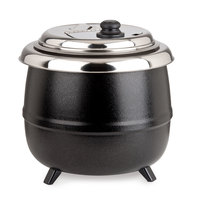 Avantco S600 14 Qt. Soup Kettle Warmer Black - 110V, 600W