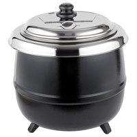 Avantco S600 14 Qt. Black Soup Kettle Warmer - 110V, 600W