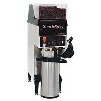 Grindmaster GNB10H 5.5 lb. Single Hopper 74 oz. Airpot Grind'n Brew Coffee Grinder and Automatic Brewer - 120V