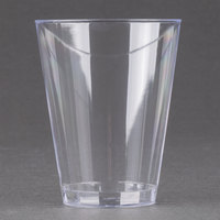 Fineline Savvi Serve 407 7 oz. Tall Clear Hard Plastic Tumbler - 500/Case