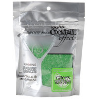 Rokz Cocktail Rim Salt Green - 5 oz. Bag