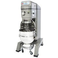 Globe SP62P Gear Driven 60 Qt. Commercial Planetary Floor Pizza Mixer - 208V, 3 Phase, 3 hp