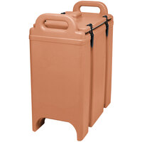 Cambro 350LCD157 Camtainer 3.375 Gallon Coffee Beige Insulated Soup Carrier