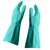Nitrile Glove Flock Lined 15 Mil Medium - 24/Pack