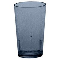 Cambro D8608 Sapphire Blue Del Mar Customizable Plastic Tumbler 8 oz. - 36/Case