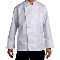 Chef Revival J023-3X Chef-Tex Size 56 (3X) Customizable Poly-Cotton Classic Chef Jacket