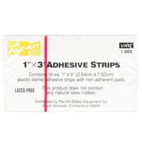Medique 60075 Medi-First 1 inch x 3 inch Adhesive Bandage Strip - 16 / Box