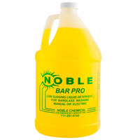 Noble Chemical Bar Pro Low Sudsing Liquid Detergent for Glassware - Ecolab® 18143 Alternative - 1 Gallon