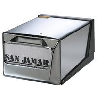 San Jamar H3001XC Fullfold Countertop Napkin Dispenser - Chrome Face with Chrome Body