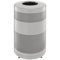Rubbermaid S55SST Perforated Stainless Steel Waste Receptacle 51 Gallon (FGS55SSTSSPL)