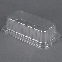 Durable Packaging P5100-500 Clear Dome Lid for 2 lb. Foil Bread Loaf Pan - 500 / Case