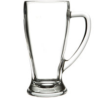 Anchor Hocking 133450 22 oz. (16 3/4 oz. Mark) Handled Beer Mug - 6 / Case