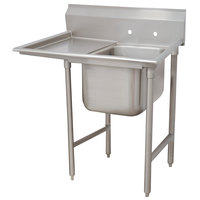 Advance Tabco 93-61-18-18 Regaline One Compartment Stainless Steel Sink with One Drainboard - 42 inch