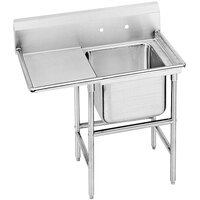 Advance Tabco 94-1-24-36 Spec-Line One Compartment Pot Sink with One Drainboard - 58 inch