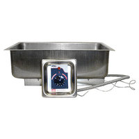 APW Wyott BM-30D Bottom Mount 12 inch x 20 inch High Performance Hot Food Well with Drain