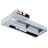 APW Wyott FDL-48H-I 48 inch High Wattage Lighted Calrod Food Warmer with Infinite Controls - 1425 Watt
