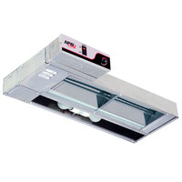 APW Wyott FDL-48L-I 48 inch Lighted Calrod Food Warmer with Infinite Controls - 960 Watt
