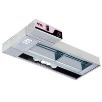 APW Wyott FDL-72H-T 72 inch High Wattage Lighted Calrod Food Warmer with Toggle Controls - 2220 Watt