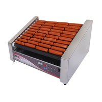 APW Wyott HRDSi-31S X*PERT Digital Hotrod 30 Hot Dog Non-stick Roller Grill - 19 1/2 inch Slanted Top
