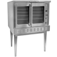 Bakers Pride BPCV-E1 Restaurant Series Bakery Depth Single Deck Full Size Electric Convection Oven - 10,500 Watt