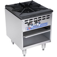 Bakers Pride Restaurant Series BPSP-18-3 Single Burner Stock Pot Range