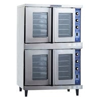 Bakers Pride GDCO-E2 Cyclone Series Double Deck Full Size Electric Convection Oven - 10,500 Watt