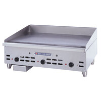 Bakers Pride HDTG-2424 Heavy Duty Countertop Griddle with Thermostatic Controls Gas 24 inch