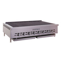 Bakers Pride XX-10 Gas Radiant Charbroiler Low Profile 52 1/2 inch - 180,000 BTU