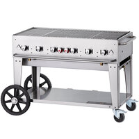 Crown Verity MCB-48 Outdoor BBQ Grill / Charbroiler - Portable
