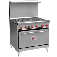 Cooking Performance Group 36-CPGV-6B-S30 6 Burner 36 inch Gas Range with 30 inch Standard Oven