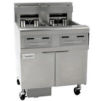 Frymaster FPEL114-C 30 lb. Electric Floor Fryer - 14 kW