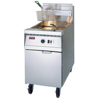 Frymaster MJ1CF Gas Floor Fryer 60-80 Pounds