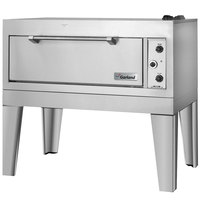 Garland E2115 55 1/2 inch Triple Deck Electric Roast / Bake Oven (1 Roast, 2 Bake) - 18.6 kW