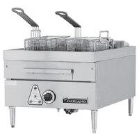 Garland E24-31F 30 lb. Commercial Countertop Electric Deep Fryer - 12 kW