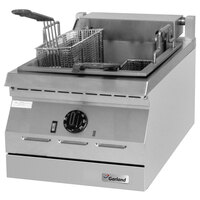 Garland ED-15SF Designer Series 17 lb. Electric Commercial Countertop Super Deep Fryer - 8 kW