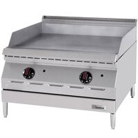 Garland GD-36GTH Designer Series 36 inch Countertop Griddle with Thermostatic Controls - 60,000 BTU