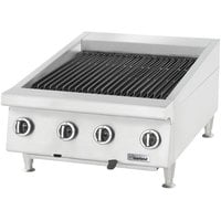 Garland GTBG36-AR36 36 inch Radiant Charbroiler with Adjustable Grates - 108,000 BTU