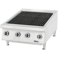 Garland GTBG36-NR36 36 inch Radiant Charbroiler with Fixed Grates - 108,000 BTU