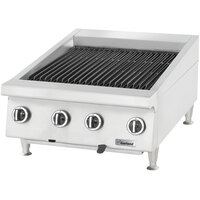 Garland GTBG48-AR48 48 inch Radiant Charbroiler with Adjustable Grates - 144,000 BTU