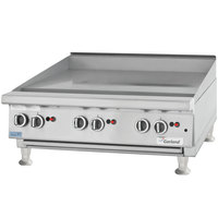 Garland GTGG48-GT48M 48 inch Gas Countertop Griddle with Thermostatic Controls - 112,000 BTU