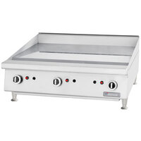 Garland GTGG48-G48 Gas Griddle Manual Control - 104,000 BTU