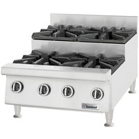 Garland GTOG24-SU4 4 Burner 24 inch Step-Up Countertop Range - 120,000 BTU